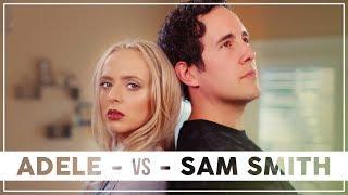 ADELE vs SAM SMITH Mashup!! ft. Madilyn Bailey & Casey Breves