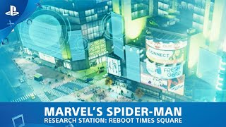 Marvel's Spider-Man (PS4) - Research Station - Reboot Times Square
