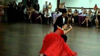 Apresentação de valsa Patrick & Poliana, coreografia PAULO ZANANDRÉ.