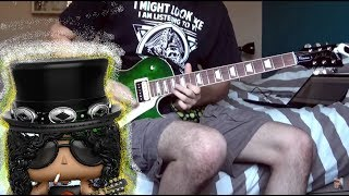 You Could Be Mine - Guns N' Roses/Slash - Guitar Solo Cover
