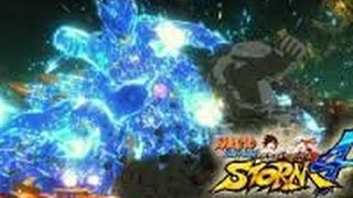 NARUTO STORM 4 HASHIRAMA VS MADARA GAMEPLAY