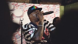 """Scarface (of Geto Boys) Performs """"My Mind Playin' Tricks On Me"""" at ALife, NYC"""