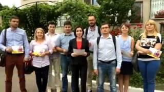 Maia Sandu - luăm Moldova la /PAS/