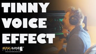 Tinny Voice Effect - Adobe Audition CS6 Drop Off Below 250Hz