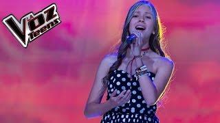 Valentina canta 'Ángel'   Audiciones a ciegas   La Voz Teens Colombia 2016
