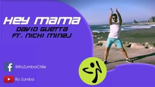 Hey Mama - David Guetta ft. Nicki Minaj - Coreo Zumba - Ro Zumba