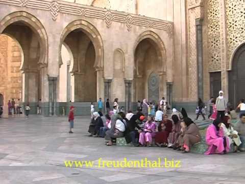 Moschee Hassan II. in Casablanca   Marokko
