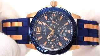 Hands On With The Men's Guess Oasis Blue & Rose Watch W0366G4