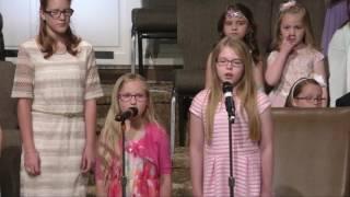 "Jr. Church Choir - ""The Old Rugged Cross"""