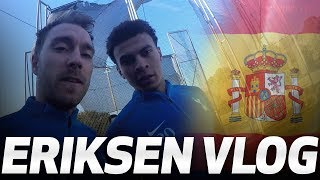 ERIKSEN TRAINING VLOG | Day two in Barcelona