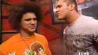 Randy Orton Meets Carlito