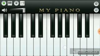 Happy Birthday Ringtone on Virtual Piano