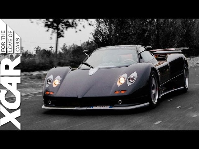 Pagani Zonda S 7.3: Taking a Drive with Horacio Pagani - XCAR
