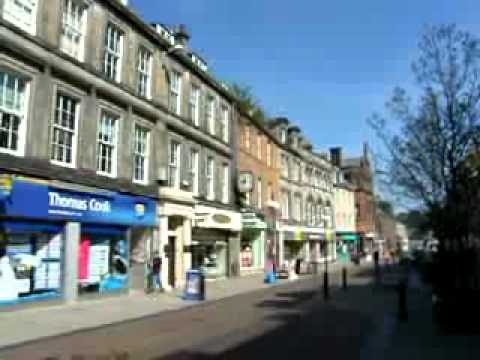 Kirkcaldy High Street Fife Scotland
