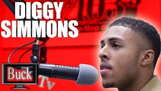 Diggy Simmons Interview with Mario Mic Man Streetz 103.3 On Buck Tv