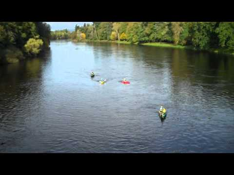 Paddle Scotland River Tay Kinclaven