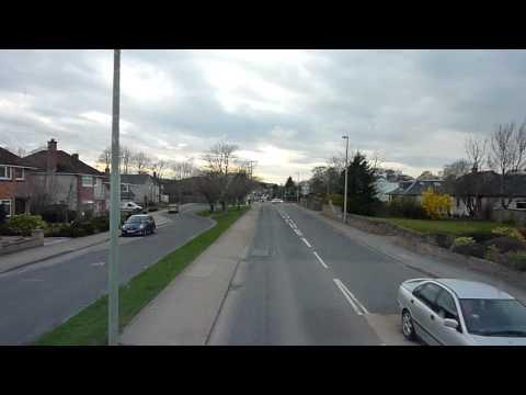 Bus journey from Raigmore hospital to Scorguie Inverness Scotland 2010 Mike Bradley