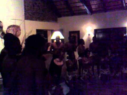 Music and dance at Mabula Game Reserve, South Africa