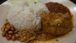 นาสิ ลามัก ข้าวกะทิ อาหารมาเลเซีย Nasi Lamak