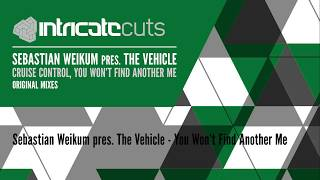SEBASTIAN WEIKUM PRES. THE VEHICLE - CRUISE CONTROL, YOU WONT FIND ANOTHER ME (EP) [INTRICATE CUTS]