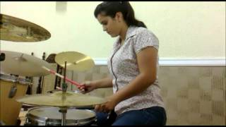Ana Laura - Tua presença é real (Drum Cover)