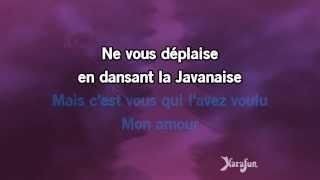 Karaoké La Javanaise (Live acoustique) - Florent Pagny *