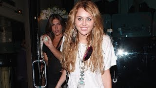 Miley Cyrus' Girls Night Out At Mr. Chow [2010]