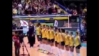 Cerimônia do Hino - Brasil x Japão - FIVB Women's World Grand Champions 2013
