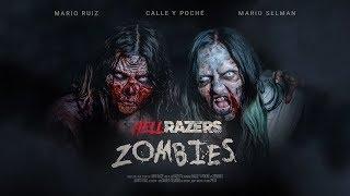 Las zombies Calle y Poché atacan a Mario Ruiz y Mario Selman en #HellRazers