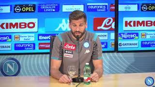 La presentazione di Fernando Llorente in conferenza stampa