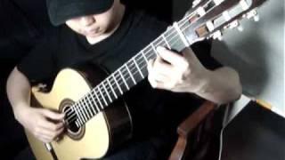 Elfen Lied: Lilium on classical guitar by Da Vynci