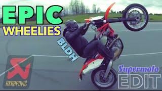 Epic Supermoto Hooligans Edit 2014 | dem wheelies | Motard STHLM [BLDH EDIT]