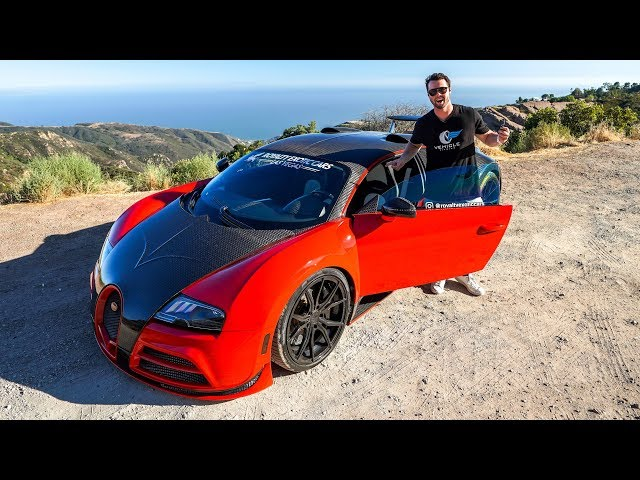 Driving The World's Only $2 Million RWD Swapped Bugatti Veyron!