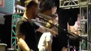 David Cook - Fade Into Me - Atlantic City 07-19-2014 (banter)