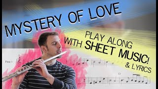 Mystery of Love - Sufjan Stevens (Call Me By Your Name) PLAY ALONG W/ SHEET MUSIC!