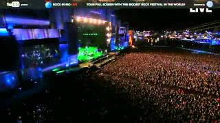 Metallica Fail   Lars battery fail in the introduction of im evil at Rock in Rio!