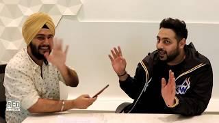 RJ Karam with Badshah