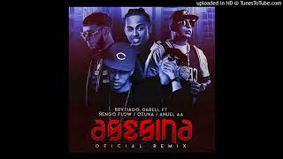 Brytiago Ft. Darell, Ñengo Flow, Anuel AA Y Ozuna - Asesina (Remix) (Preview)