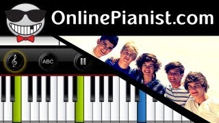 One Direction - One Way Or Another (Teenage Kicks) - Piano Tutorial