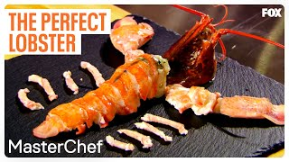 Gordon Ramsay Demonstrates How To Cook The Perfect Lobster   Season 7 Ep. 6   MASTERCHEF
