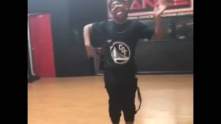 "Kida the great dancing his own choreography ""still feelin it"" mistah f.a.b."