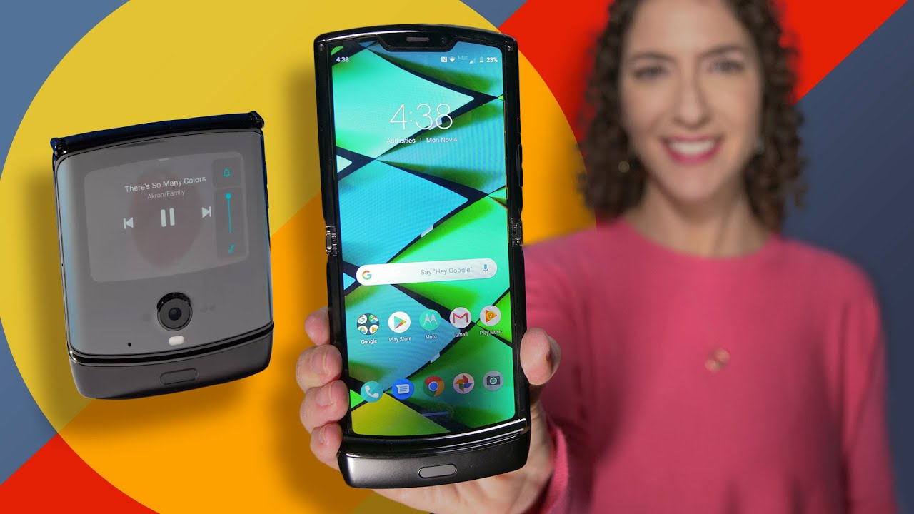 Motorola Razr first look: A Foldable and Flip phone in one