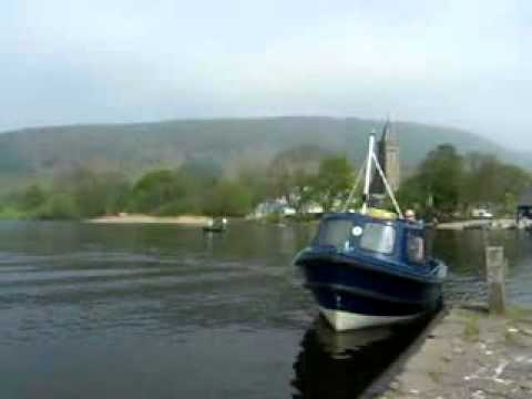 Inchmahome Priory Boat Scotland