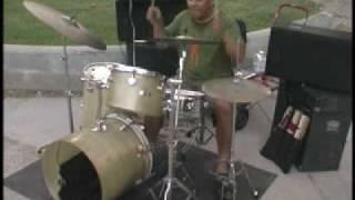 Ren C on Drums So Flute St. Germain