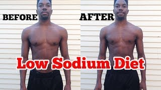 I Ate A Low Sodium Diet For A Week | Body Results & Weight Loss