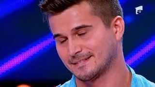 Daniel Peltea, specialist criminalistica, eliminat cu trei de NU, la preselectiile X Factor Romania