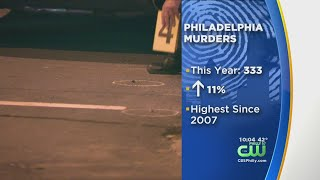 Philadelphia Homicide Rate Climbs, Highest In Over A Decade