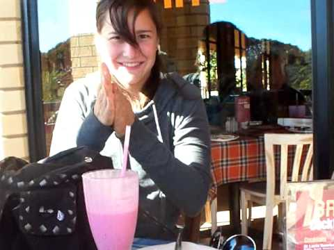 Eating at Braza