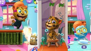 MY TALKING TOM2 Unlimited Coins & Stars⎮Gameplay make for Kids best moment