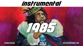 "J. Cole - 1985 (Intro to ""The Fall Off"") [INSTRUMENTAL] *reprod*"